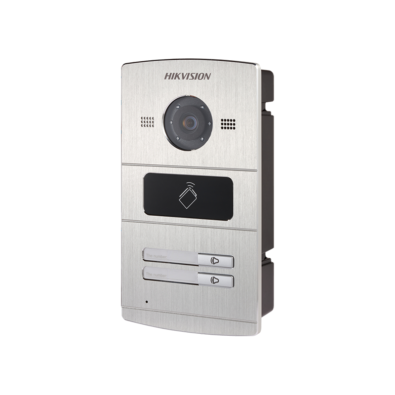 Hikvision DS-KV8202-IM IP вызывная панель, на 2-х абонентов