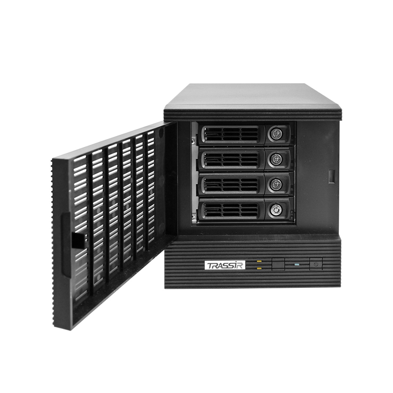 TRASSIR DuoStation Pro Сетевой видеорегистратор с расширенной поддержкой видеоаналитики