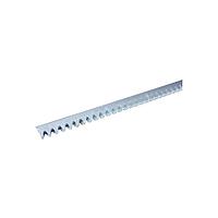490123/1 Зубчатая рейка 30х8.приварное крепление,1м.(RACK STEEL 30X8 1M W/WELD-ON FITTINGS)