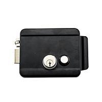 AX042 Электромеханический замок, накладной, c блокировкой кнопки