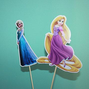 "Топперы ""принцесса"" (1 шт)"