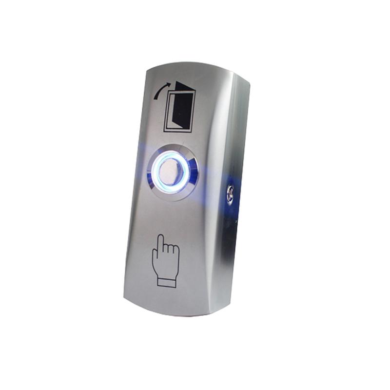 EB-1405А Кнопка выхода металлическая накладная со светодиодом