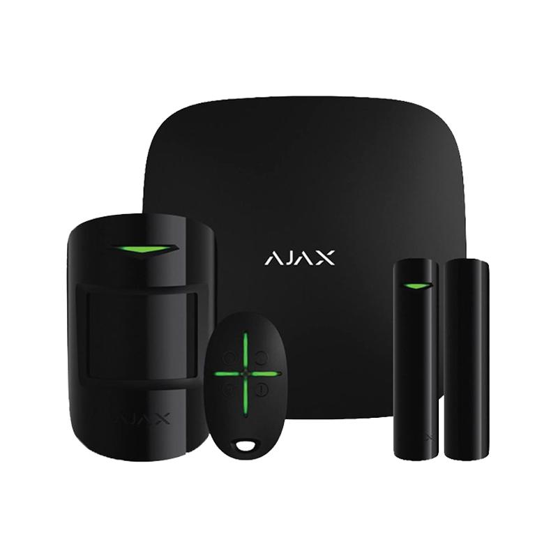 Hub Kit black комплект (Hub-1шт, MotionProtect-1шт, DoorProtect-1шт, SpaceControl-1шт)