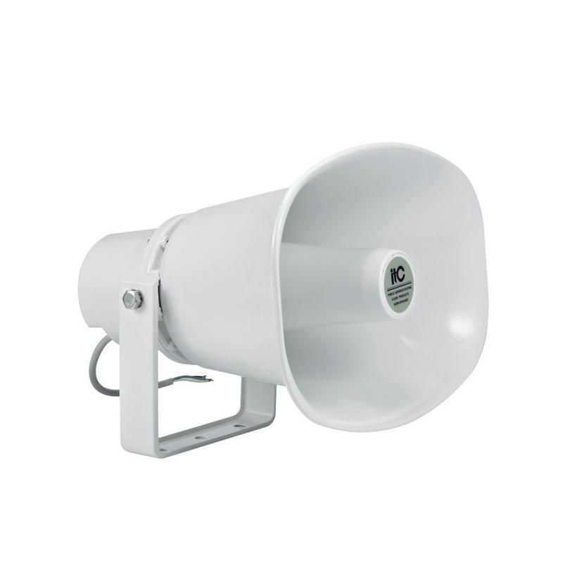 ITC T-720A Влагостойкий рупорный громкоговоритель, 30(15)W-100V, 15(7,5)W-70V, SPL (1W\m) 103 dB