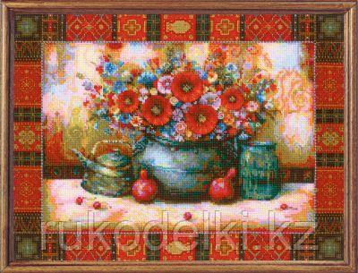 """Набор для вышивания крестом """"Натюрморт по мотивам картины Н. Джапаридзе"""""""