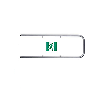 PERCo-BH02 1-16 Створка поворотная с шарнирами длиной 1м (нержавеющая сталь)