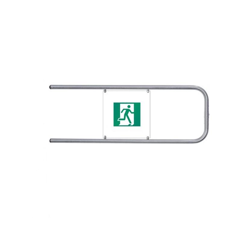 PERCo-BH02 1-17 Створка поворотная с шарнирами длиной 1,2м (нержавеющая сталь)