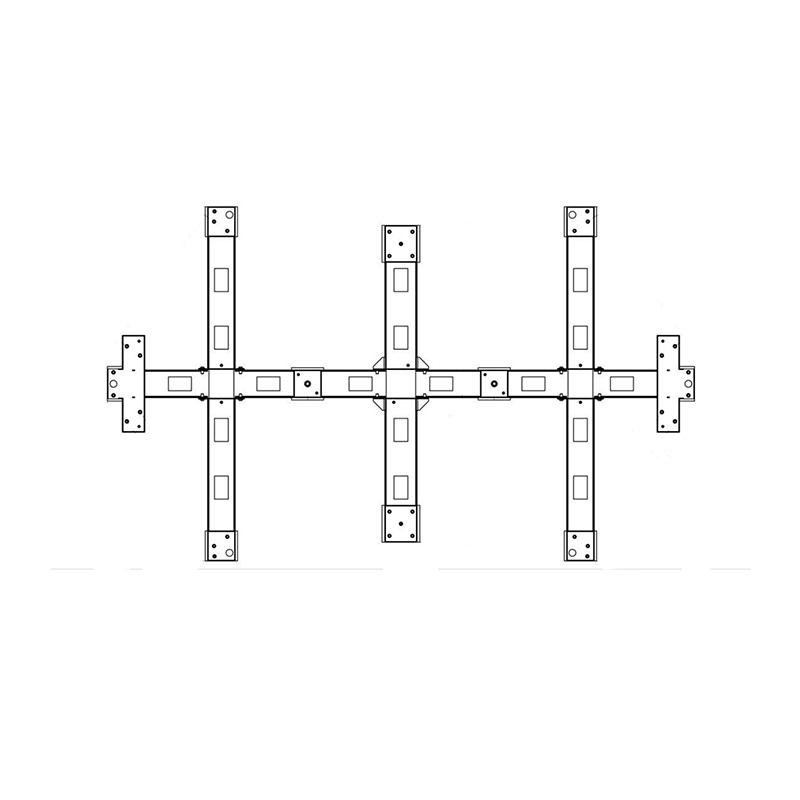 PERCo-RF20 Рама монтажная для турникета роторного полноростового PERCo-RTD-20