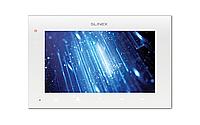 SQ-07MT Белый видеодомофон с сенсорным экраном и программной детекцией движения