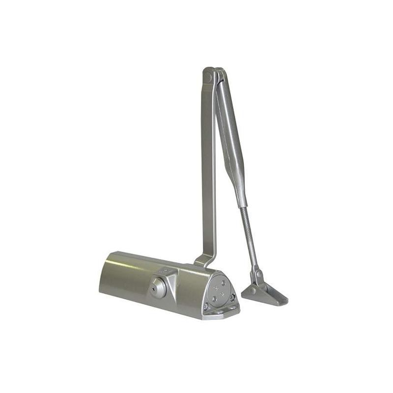 TS68 EN 2/3/4 (серебро) Доводчик со складным рычагом