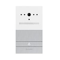 VR-16 Вызывная панель врезная, белый+серебро