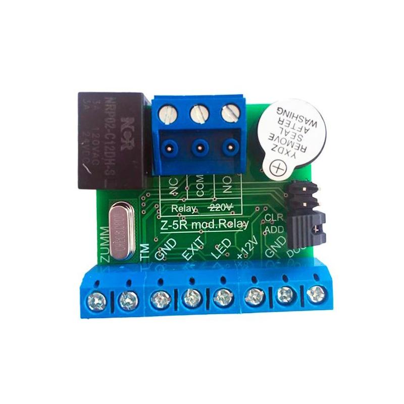 Z-5R ( мод. relay) Контроллер с блоком реле в корпусе
