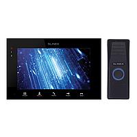 Комплект домофона SQ-07MT Черный + Панель вызова ML-15HR (черный)
