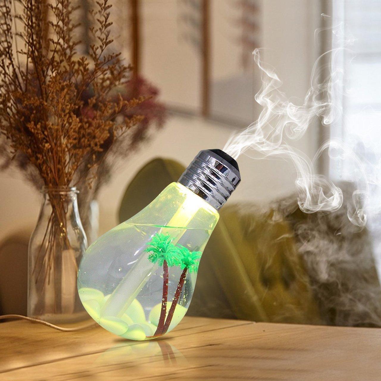 Увлажнитель воздуха в виде лампочки!