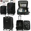 Малый чемодан черный прочный Wenger Gonzi (размер S), фото 2