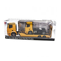Радиоуправляемый автовоз Mercedez-Benz Arocs Flat Bed Trailer MZ 1:20 - E562-003 Double Eagle