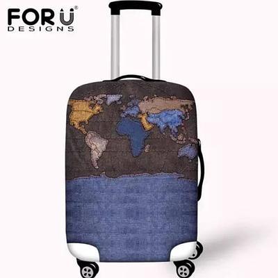 Стильный чехол на чемодан