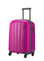 """Пластиковый чемодан средний"""" Aotian """" ярко-розового цвета"""
