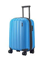 """Пластиковый чемодан средний"""" Aotian """" голубого цвета"""