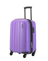 """Малый пластиковый чемодан """"Aotian"""" фиолетовый для багажа"""
