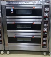 Пекарский шкаф электрический 3 - секционный