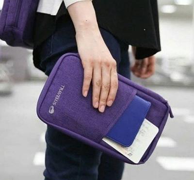 Органайзер для документов (фиолетовый)