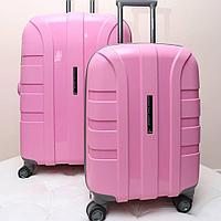 """Компактный светло-розовый чемодан """" Aotian """""""