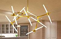 Люстра в стиле Loft светодиодная на 10 ламп