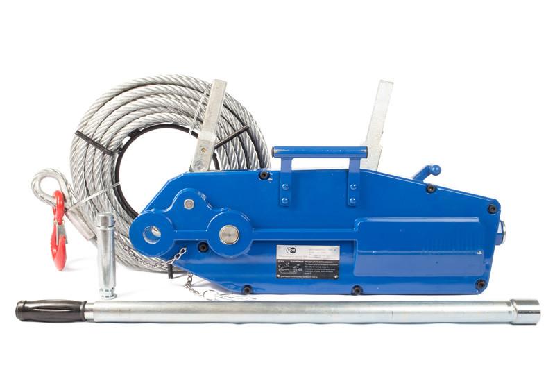 Лебедка рычажная TOR МТМ 800 (0.8Т х 20М, тросовая)