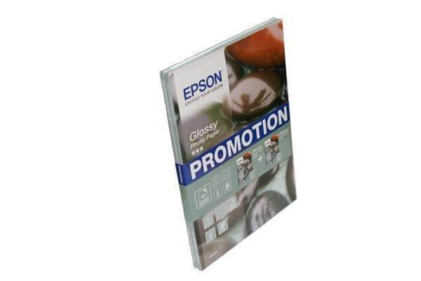Глянцевая фотобумага Epson Glossy Photo Paper A4, 255g, 40 листов