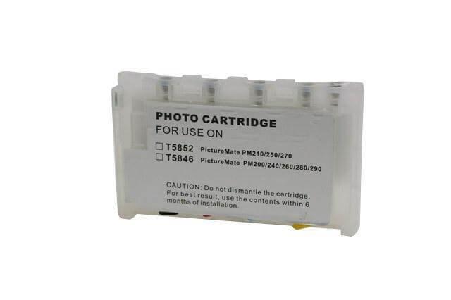Перезаправляемые картриджи для Epson Picture Mate 270