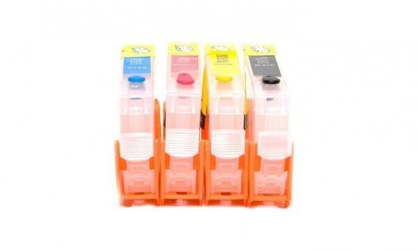Перезаправляемые картриджи для HP Deskjet Ink Advantage 4615 (картриджи 655)