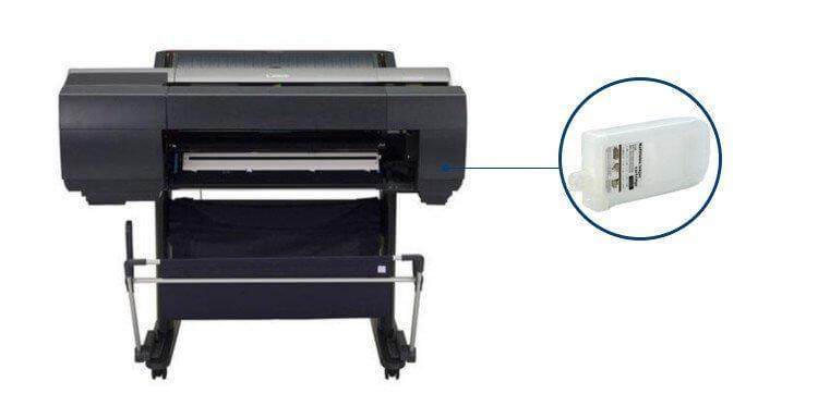 Плоттер Canon imagePROGRAF iPF6450 с ПЗК и чернилами