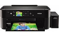 Принтер Epson L810 с оригинальной СНПЧ и чернилами INKSYSTEM