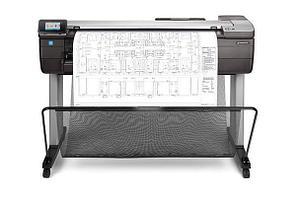 """Плоттер HP DesignJet T830 24"""" с СНПЧ и чернилами"""