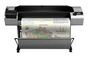 Плоттер HP DesignJet T1300 PostScript с СНПЧ и чернилами
