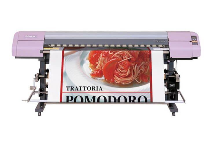 Плоттер Mimaki TextileJet DS-1600 с ПЗК и чернилами