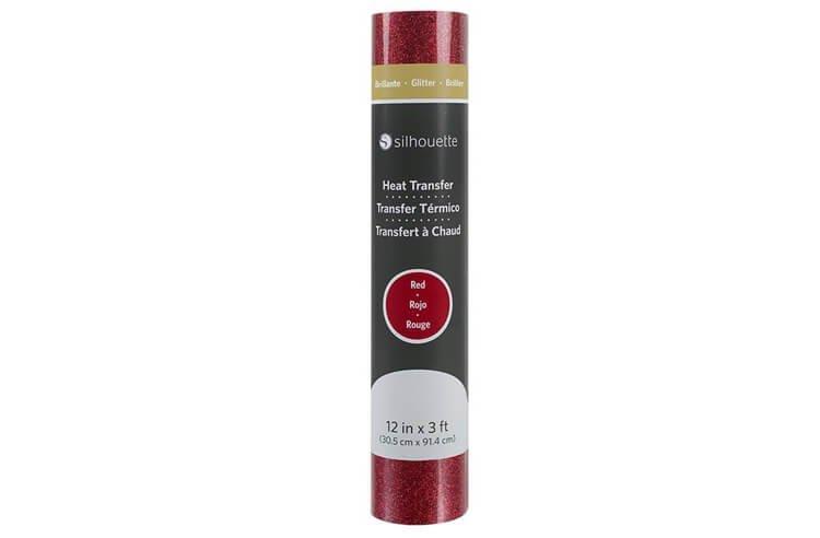 Термотрансферная пленка Silhouette блестящая 30.5 см (красная)