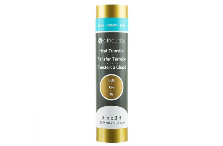 Термотрансферная пленка Silhouette 23 см (золотая)