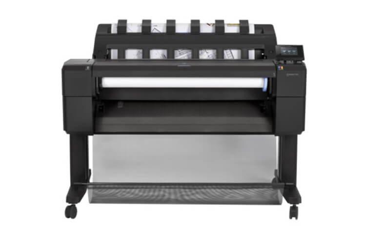 Плоттер HP DesignJet T930 PostScript с СНПЧ и чернилами