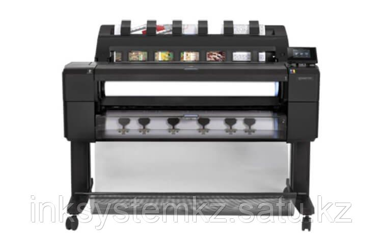 Плоттер HP DesignJet T1530 с СНПЧ и чернилами