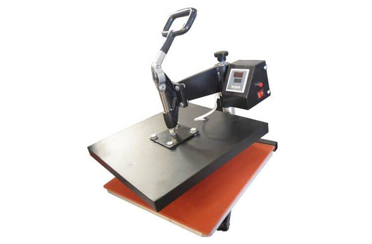Термопресс планшетный поворотный Bulros F-201 (38x38см) для термотрансферной и сублимационной печати
