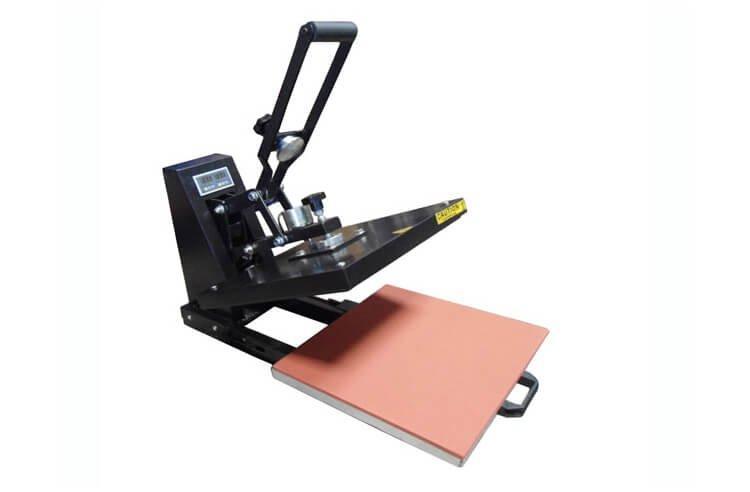 Термопресс планшетный Grafalex XY-300 (38x38см) с выдвижным столом