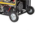 Генератор бензиновый GE 6900E, 5.5 кВт, 220 В/50 Гц, 25 л, электростартер Denzel, фото 5
