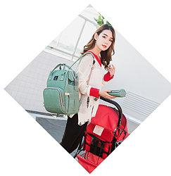 Сумка-рюкзак для мам с USB АКЦИЯ!!!