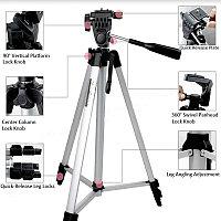 Трипод для фото/видео техники 50-135см, с тремя секциями и уровнем, фото 1