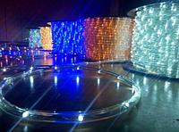 Светодиодный дюралайт 100 метров (18 ламп на 1 метр) водонепроницаемый