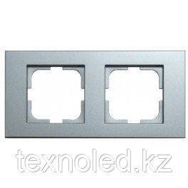 Рамка 2-я серебро GRANO, фото 2