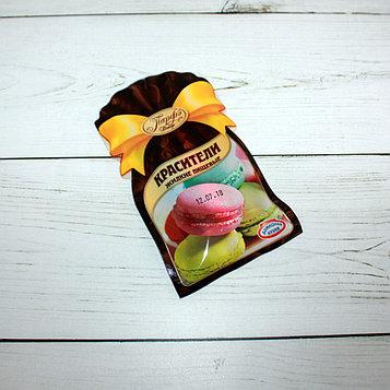 Красители пищевые жидкие Парфэ 3 цвета