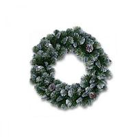 Венок еловый d45см зеленый Empress Императрица 140веток ELK387060